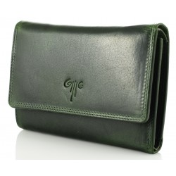 Ladies' Leather Wallet Kion - 308 Premium Green