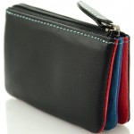 ladies' leather wallets key ring nappa