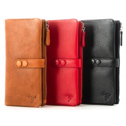 Ladies' Leather Wallet Kion - 7178