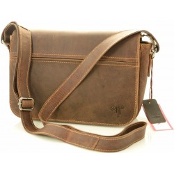 small women crossbody leather bags in vintage leather kion